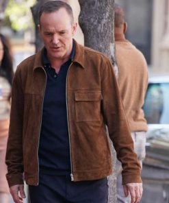 Agents Of Shield Clark Gregg Brown Jacket