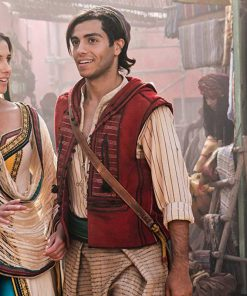 Aladdin Mena Massoud Red Vest