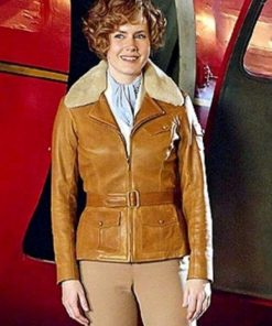 Amy Adams Aviator Jacket