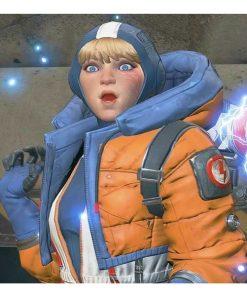 Apex Legends Season 02 Wattson Orange Hooded Jacket