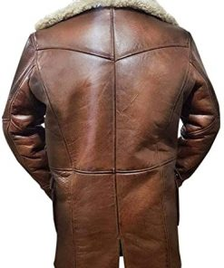 Bane Batman Shearling Jacket
