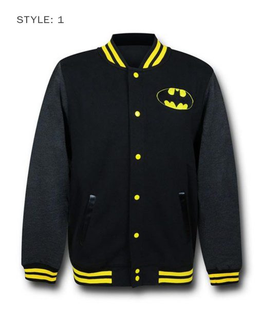 Batman Letterman Varsity Jacket