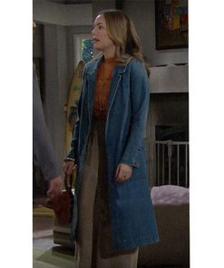 Bold and the Beautiful Hope Logan Denim Coat