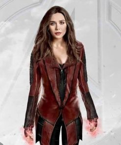 Captain America Scarlet Witch Red Coat