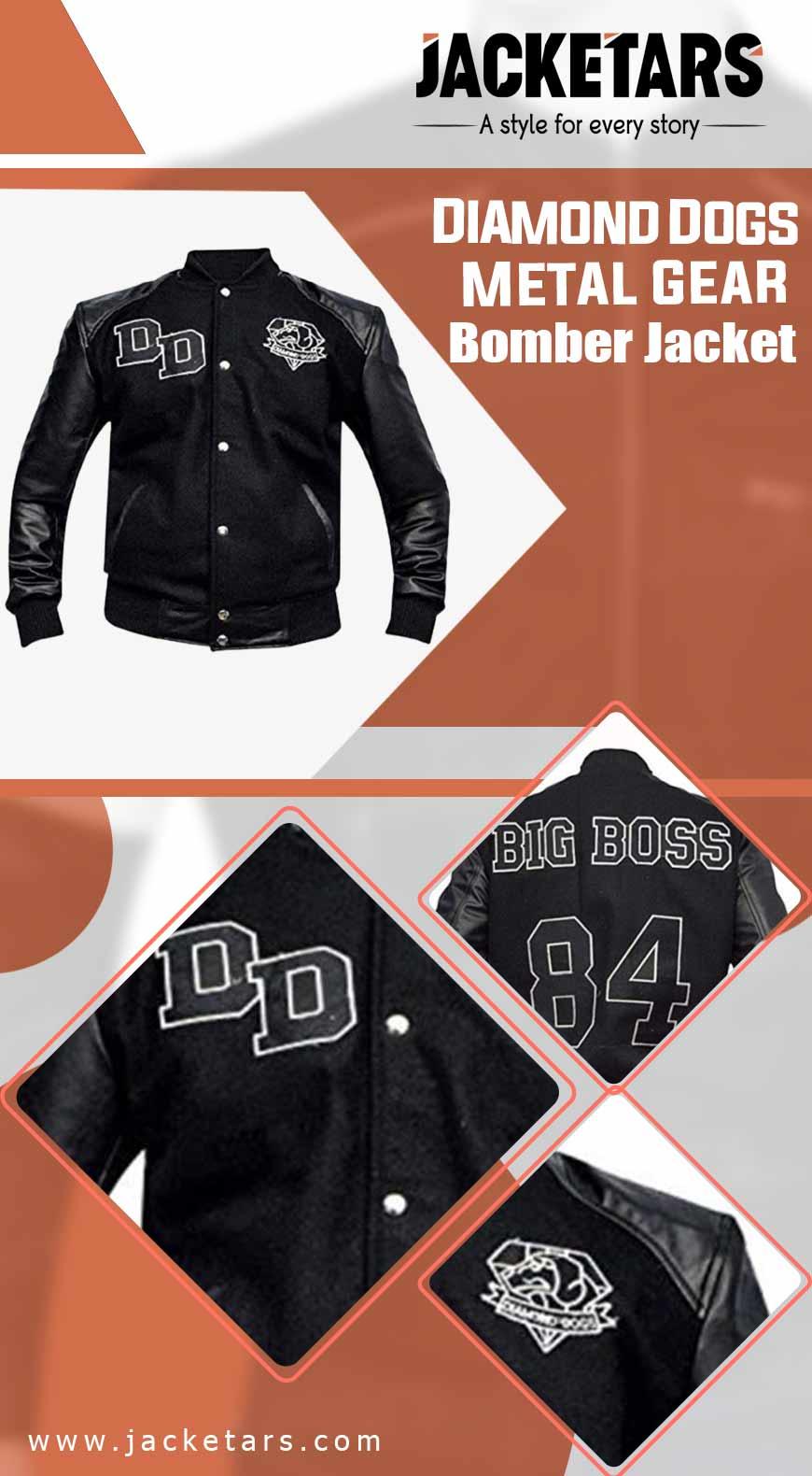 Diamond Dogs Metal Gear Bomber Jacket info