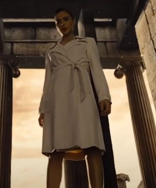 Diana Prince Justice League White Coat