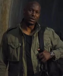 Fast and Furious 9 Tyrese Gibson Green Cotton Jacket