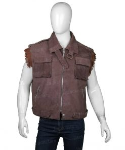 Final Fantasy VII Remake Barret Wallace Brown Vest
