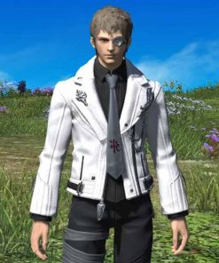 Final Fantasy XIV Scion Adventurers Leather Jacket