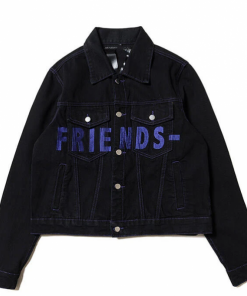 Friends VLONE Blue Denim Jacket