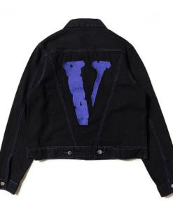 Friends VLONE Denim Blue Jacket