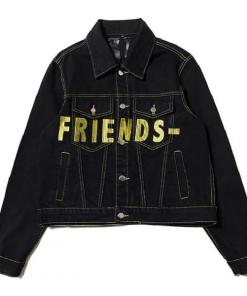 Friends VLONE Yellow Denim Jacket