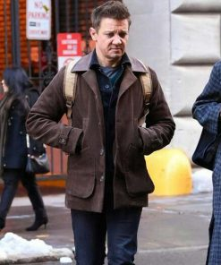 Hawkeye Clint Barton Brown Jacket