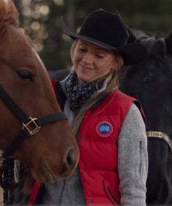 Heartland Amy Fleming Red Vest
