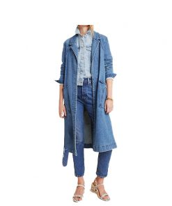 Hope Logan Denim Coat