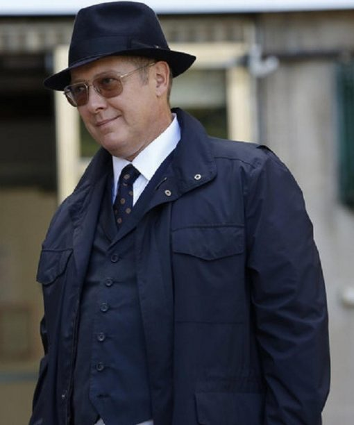 James Spader The Blacklist Cotton Coat