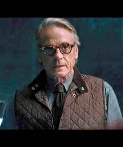 Justice League Alfred Quilted Vest