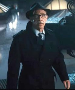 Justice League Commissioner Gordon Black Coat