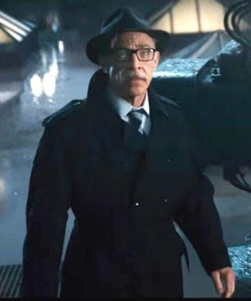Justice League Commissioner Gordon Black Coat