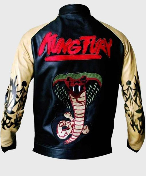 Kung Fury Cobra Bomber Jacket