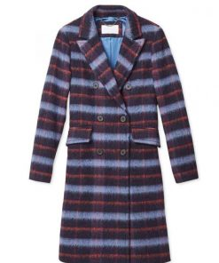 Legacies Lizzy Saltzman Plaid Coat