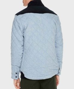 Legacies MG Blue Quilted Jacket