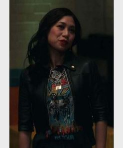 Melody Bayani The Equalizer Cropped Jacket