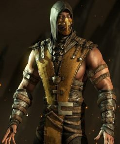 Mortal Kombat Scorpion Hooded Jacket