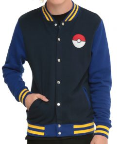 Pokemon Go Trainer Varsity Jacket