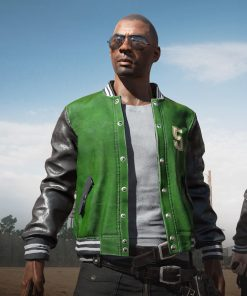 Pubg 5M Green Bomber Jacket