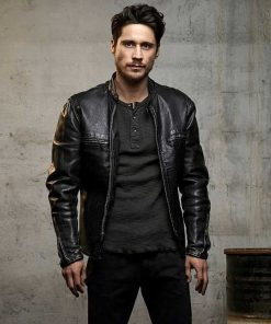 Queen of The South James Black Leather Jacket