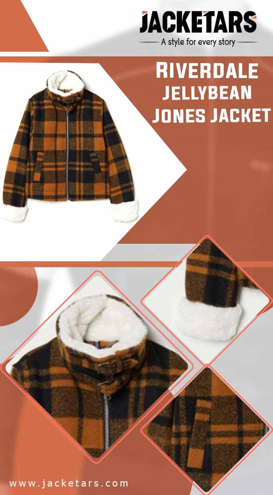 Riverdale Jellybean Jones Jacket info
