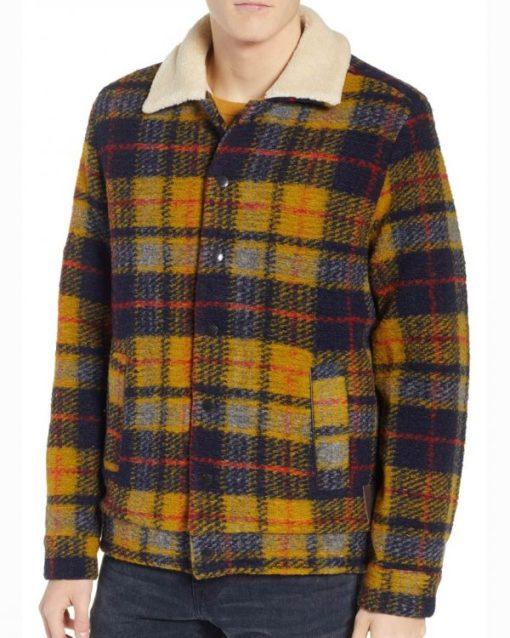 Riverdale Jughead Jones Yellow Plaid Jacket