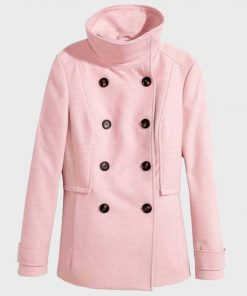 Riverdale Polly Cooper Pink Coat