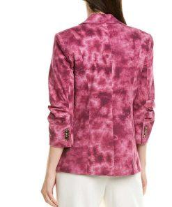 Riverdale S05 Toni Topaz Pink Cotton Blazer