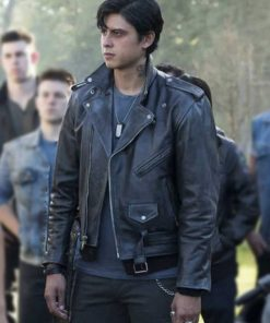 Riverdale Sweet Pea Leather Jacket