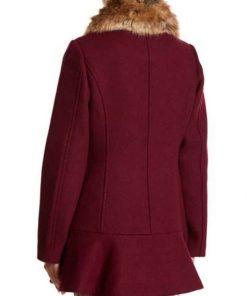 Riverdale Veronica Lodge Maroon Coat