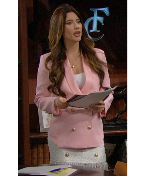 Steffy Forrester Bold and the Beautiful Blazer