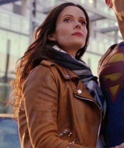 Superman and Lois Lane Brown Jacket