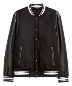 The Perfect Date Brooks Rattigan Varsity Jacket
