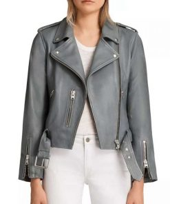 The Rookie Nyla Harper Leather Jacket