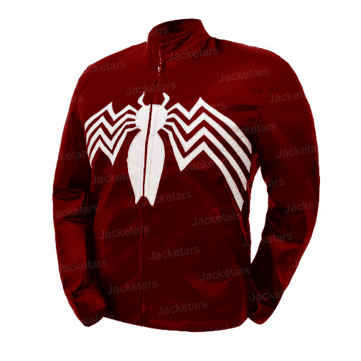 Venom Let There Be Carnage Red Leather Jacket