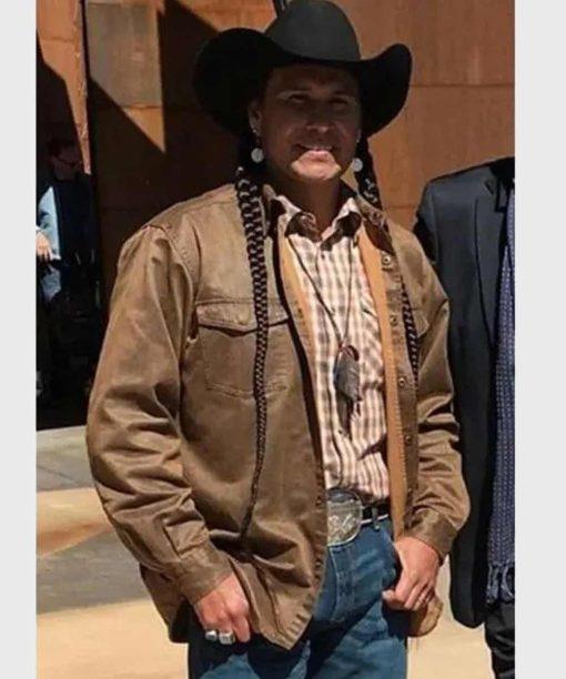 Yellowstone S04 Mo Brings Plenty Brown Jacket