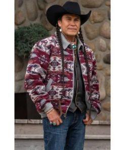 Yellowstone S04 Moses Brings Plenty Jacket