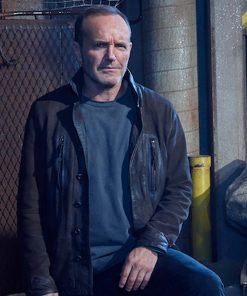 Agents Of Shield Clark Gregg Leather Jacket