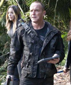 Agents Of Shield S07 Clark Gregg Black Jacket