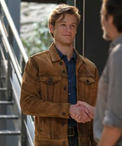 Angus MacGyver Brown Jacket