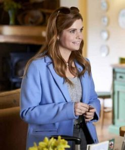 As Luck Would Have It Joanna Garcia Swisher Blue Coat