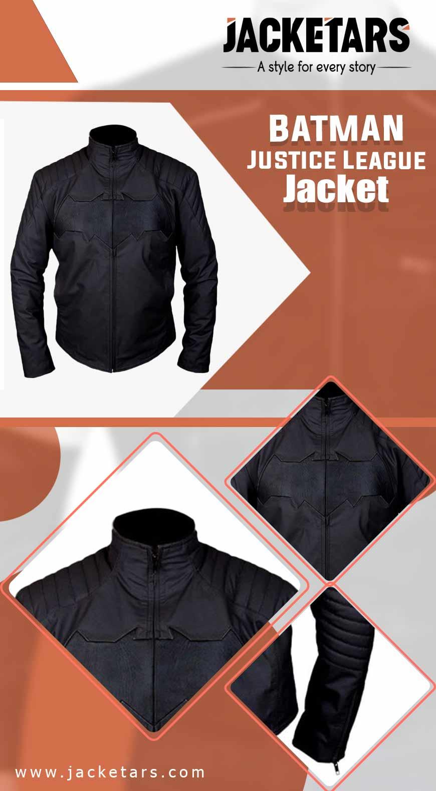 Batman Justice League Jacket INFO
