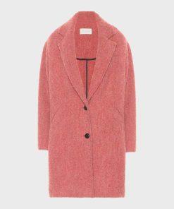 Cassie Bowden Pink Coat